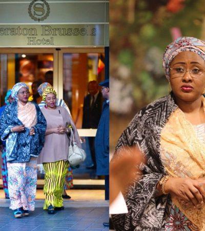 Aisha Buhari Under Lockdown, Gagged