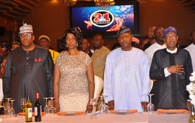 Minister Hails Channels TV at 21, Says Station's Best Yet To Come
