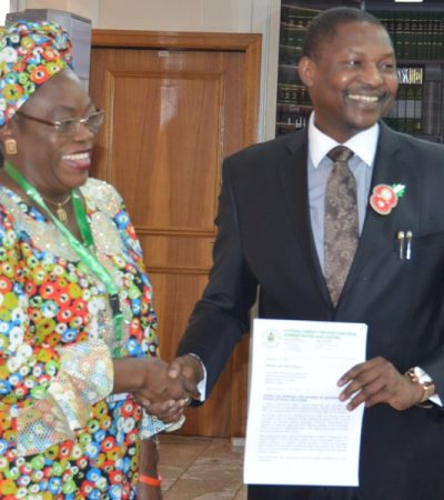 FG Will Settle Solicitors Handling High Profile Cases, AGF Assures NAFDAC