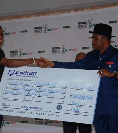 Intafact Hero's Foundation Splashes N50 Million Naira On Young Enterpreuers