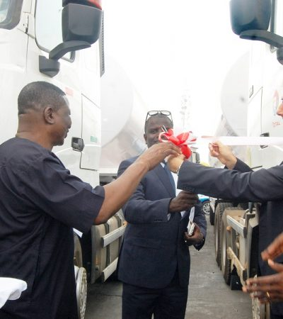 TOTAL Nigeria PLC Launches New Fleet Of Trucks To Support Transporters