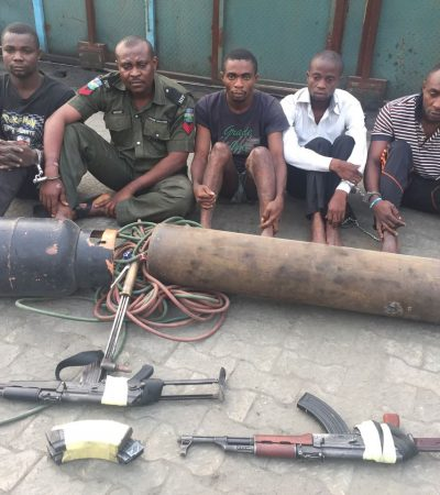 Foiled Bank Armed Robbery Attack In Port Harcourt, Rivers State