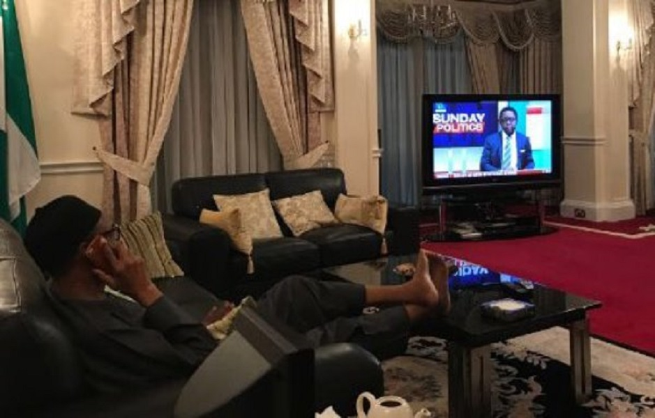 Another Photograph Of Buhari Surfaces