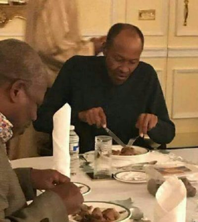 Abba Kyari Visits Buhari, As Buhari Signs Work Documents
