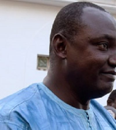 Gambia's Barrow Vows To Go After Jammeh Plunder