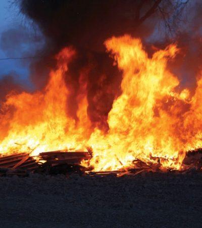 Petrol Station: Fire Outbreak In Onitsha