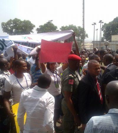 Apprehension As Thugs Storm Venue of Anti-Corruption Summit
