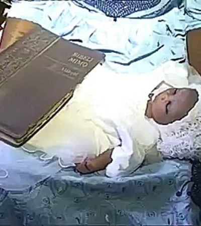 [Video] Miracle? Woman Gives Birth To Baby And Holy Bible