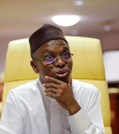 "Elrufai Threatens Federal Lawmakers In Governor's Lodge Abuja, ""I Will Not Obey Court Order"""