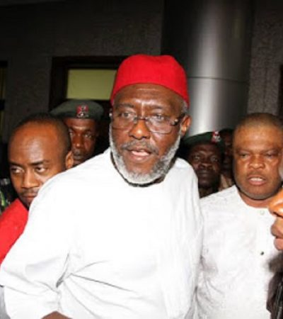 Armed Men Invade Metuh's House
