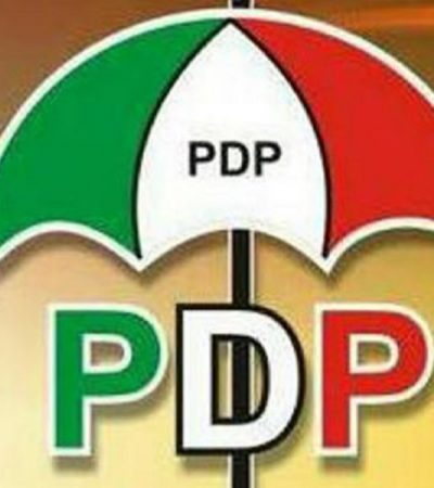 PDP May Hold Convention 2nd Quarter