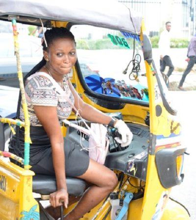 There Is Dignity In Labour – Female Tricycle Rider