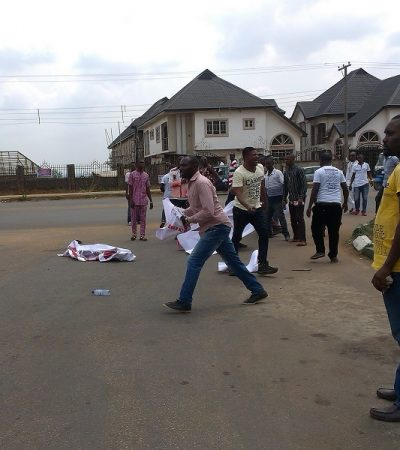 Pro-Uduaghan Group Battles Oliver, Anti-Uduaghan Protesters In Government House