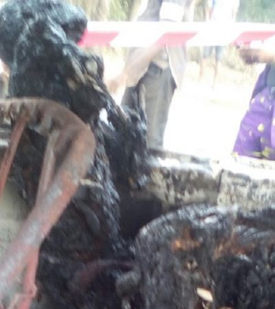 5 Passengers Roasted In Enugu Auto Crash