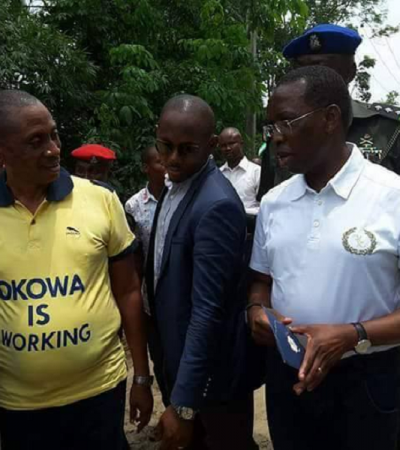 FACEBOOK: Mikoko, Others Takes DESOPADEC Commissioner To Public Dry Cleaner