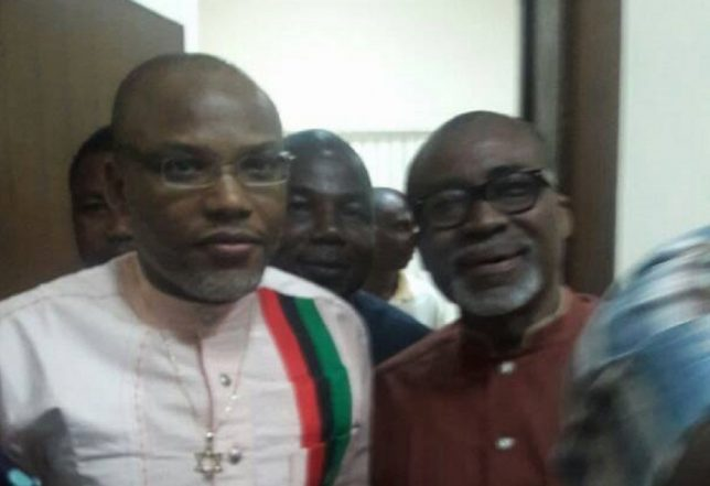 Court Grants Abaribe, Others Time To Provide Nnamdi Kanu To Face Trial