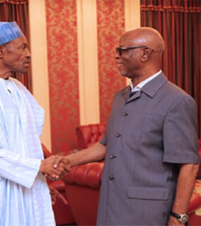 Oyegun Begs NEC Members, Blames Buhari For Negligence
