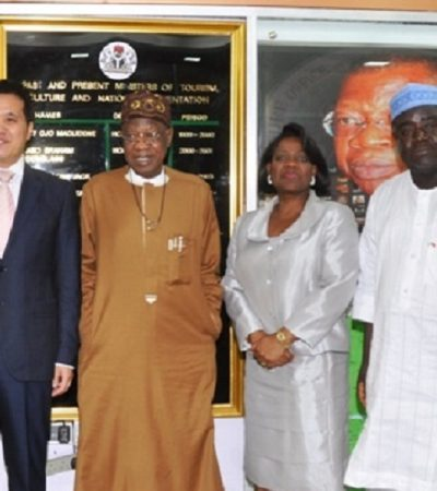 Nigeria-China Partnership On Infrastructural Development, Boost for Domestic Tourism – Minister