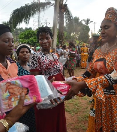 Mrs. Obiano Free Delivery Kits Excites Pregnant Women