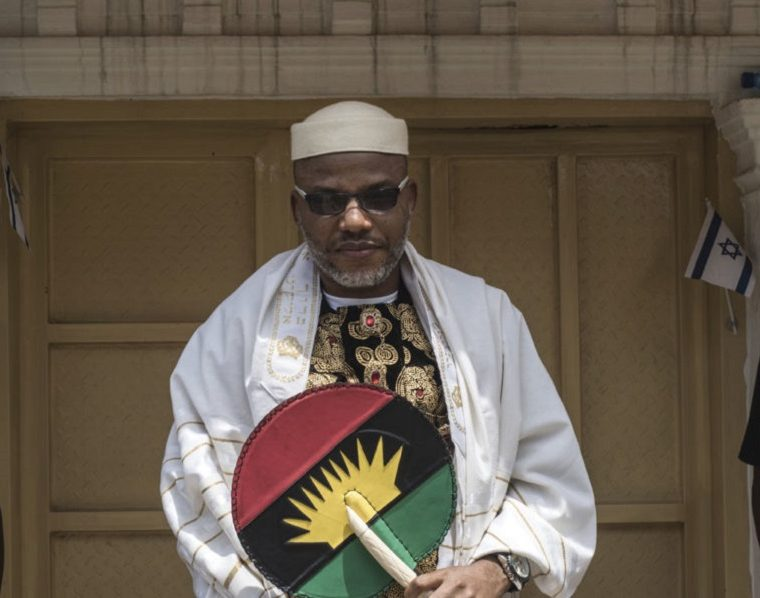 Image result for See VIDEO as Military helicopter allegedly hovers over IPOB leader Nnamdi Kanu's house