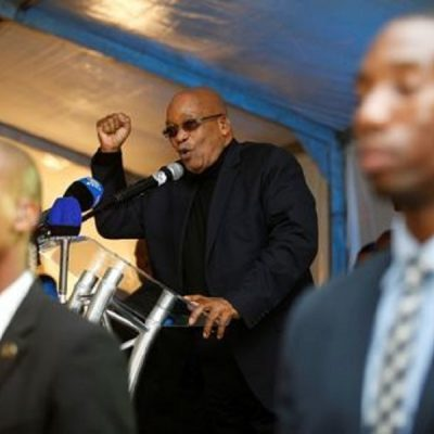 South African President Zuma Facing No Confidence Vote In ANC