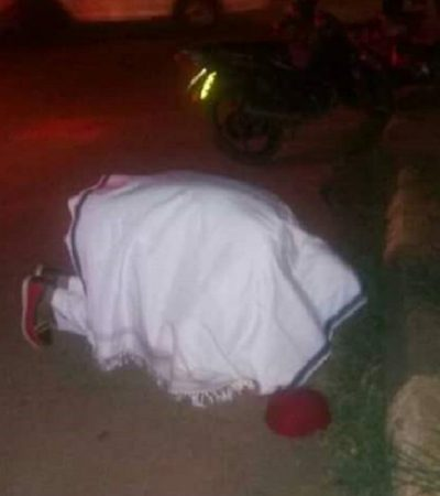 Nnamdi Kanu Weeps At Nkpor Where Military Murdered 220 IPOB Members