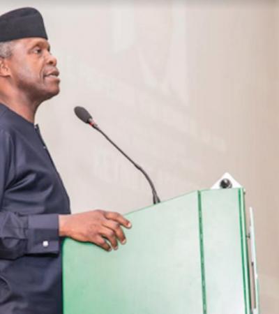 Acting President Osinbajo's Speech At Biafra@50