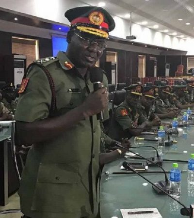 Army Declaration Of IPOB Terrorist Organization, To Shield Soldiers Committing Genocide