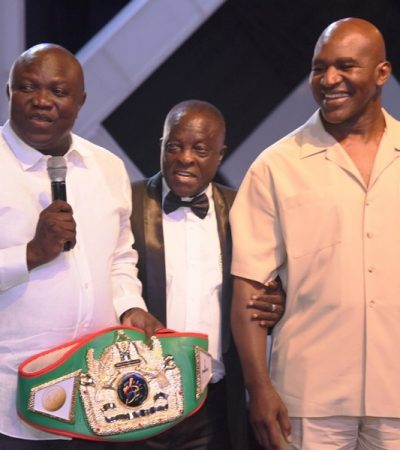 Evander Holyfield Vs Bola Tinubu Charity Bout: ACI Entertainment Stages First Successful Edition Of Rhumbles In Lagos