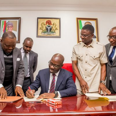 Obaseki's Fires LG Appointees