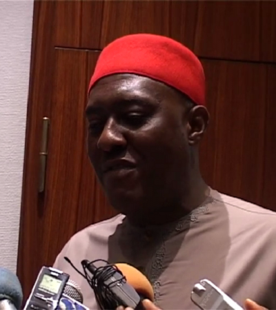 Failure Of S/East Dev Bill Not A Badge Of Defeat –Metuh