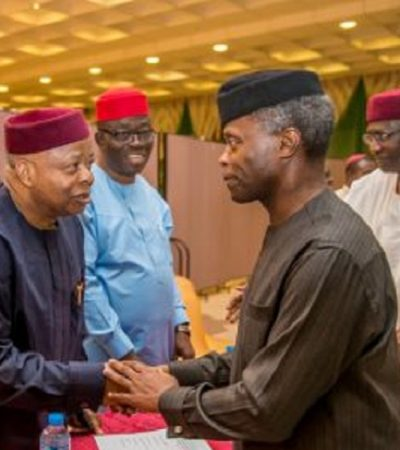 """""""Osinbajo, Your Meeting With 'Igbo Leaders' Was A Waste Of Time"""" – IPOB"""