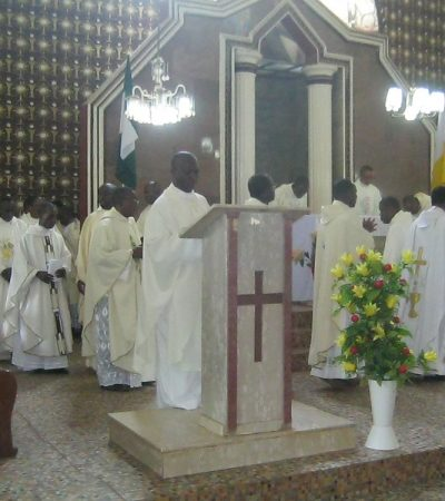 Pope's Decision On Ahiara Is A Reminder Of Ecclesial Communion Says Bishop Ogun