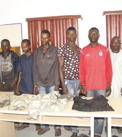 Police Parades Notorious Kidnap For Ransom Gang Terrorising Kaduna/Abuja High Way
