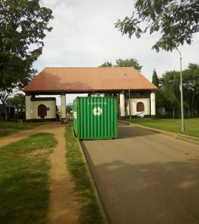 Tension In Abuja Games Village As Lebanese Community Blocks Entry Gate