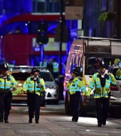 Casualties After London Bridge 'Knife And Van Incident'