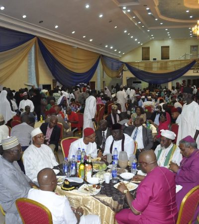 Every Part Of Nigeria Is A Home To Every Nigerian – Rochas Tells Arewa Youths As He Breaks Fast With Muslims In The State