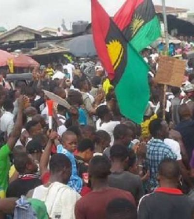 Video Of Nnamdi Kanu's Visit To Port Hacourt, Massive Reception