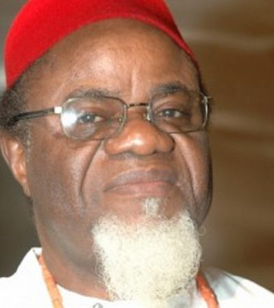 Restructuring Nigeria – By Okwadike, Dr. Chukwuemeka Ezeife CON