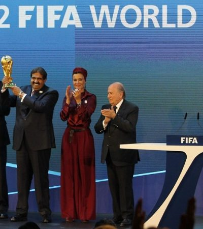 To FIFA, Six Arab States Call for Rejecting Qatar as 2022 World Cup Host