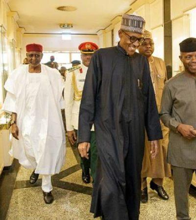 What Buhari, Osinbajo Discussed In London