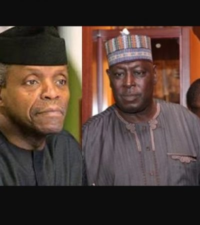 Osinbajo Angrily Walks Babachir Lawal Out Of Office, Calls Him A Thief