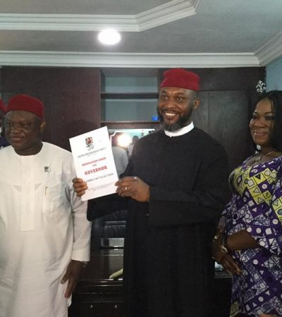 Anambra Guber: Chidoka Picks UPP Nomination Form