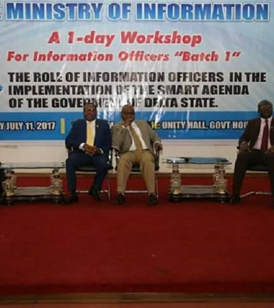 Your Problem Is Laziness, Lack Of Loyalty, Commissioner Blasts Information Officers