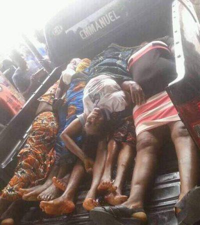 "Catholic Shooting: ""Gunmen Wore Army Cloths, Not Igbo"" Says Loveth Gift, An Eyewitness"