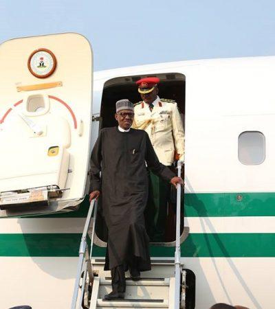 "Saraki Welcomes President Buhari, Says: ""The Good Work Continues"""
