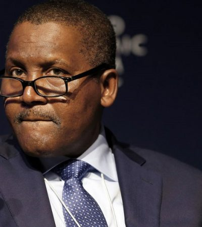 The Federal Government Begs Dangote to Complete Refinery Before 2019