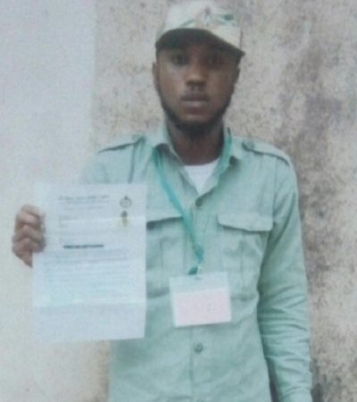 Arrest Of Fake Corps Member In Akwa Ibom Stat NYSC Orientation Camp