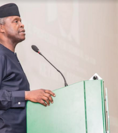 Buhari Administration Takes Private Enterprise Seriously, Says VP Osinbajo
