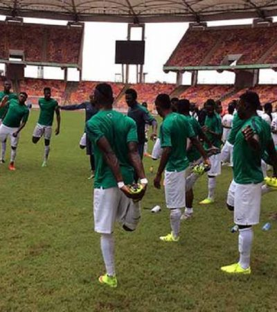 Udom Assures Support For Eagles,  NFF Insists Uyo Remains Eagles Home